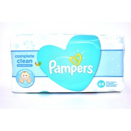 PAMPERS COMPLET CLEAN 64 PZ