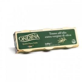 ONDINA TONNO ALL OLIO EXTRA VERGINE OLIVA 3*80 gr
